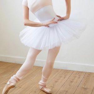 Capezio White Practice Platter Tutu for Dancers